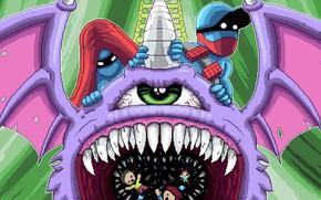 Картинка Music, Cover, Monstercat, Pegboard Nerds, Purple People Eater