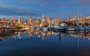 Картинка Канада, Ванкувер, бухта Фолз-Крик