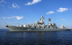 Обои крейсер, проект 1164, маршал устинов, северный флот
