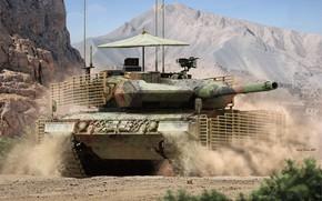 Картинка Канада, танк, Валерий Петелин, Canadian Leopard 2A6M CAN