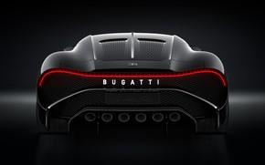 Картинка машина, Bugatti, фонарь, стильный, гиперкар, La Voiture Noire