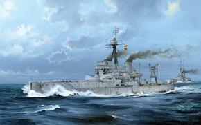 Картинка Линкор, Royal Navy, HMS Dreadnought