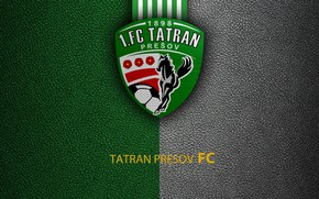 Картинка wallpaper, sport, logo, football, Tatran Presov