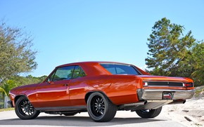 Картинка Muscle, Car, Coupe, Chevy, Chevelle, Chevelle SS