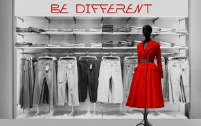 Картинка стиль, платье, контраст, fashion, мода, dress, mannequin, by Pyrus-acerba