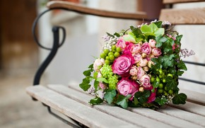 Картинка Flowers, Wallpaper, Bouquet