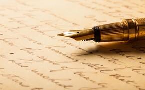 Картинка metal, paper, pen, writing