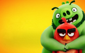 Картинка графика, мультфильм, Movie, The Angry Birds, 2019