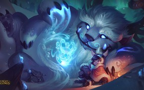 Картинка League of Legends, Nunu, Willump