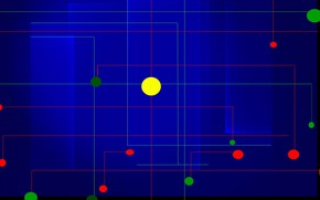 Картинка линии, узор, краски, круг