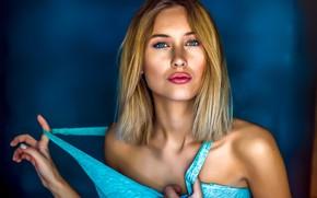 Картинка sexy, Beautiful, blue eyes, blonde, babe, Nice