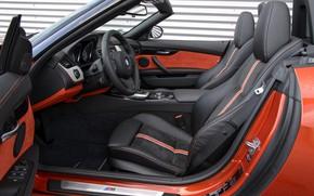 Картинка BMW, дверь, родстер, салон, 2013, E89, BMW Z4, Z4, sDrive35is
