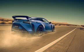 Обои Lexus, Car, Blue, Sport, LC