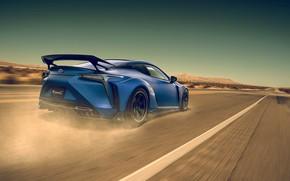 Картинка Lexus, Car, Blue, Sport, LC