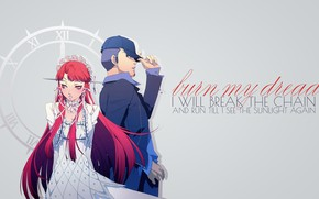 Картинка Persona 3, Junpei Iori, Chidori Yoshino