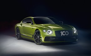 Картинка Bentley, Continental GT, Limited Edition, Pikes Peak, 2020