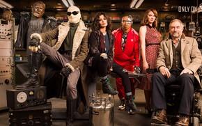 Картинка взгляд, актёры, сериал, лаборатория, Фильмы, Doom Patrol, Роковой патруль