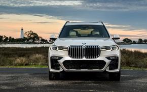 Картинка вечер, BMW, M Sport, 2019, BMW X7, XDrive50i, G07