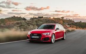 Картинка Audi, 2018, универсал, RS4, Avant