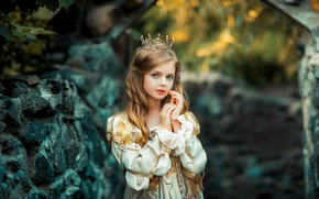 Картинка платье, девочка, принцесса