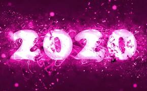 Картинка фон, Новый год, New Year, 2020