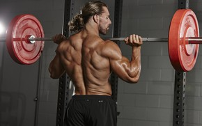 Картинка поза, спина, muscle, мышцы, штанга, бодибилдинг, тренажерный зал, gym, бодибилдер, weight, bodybuilder, спорт зал