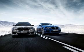 Картинка дорога, BMW, 2018, M5, V8, F90, M5 Competition