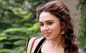 Картинка beautiful girl, actress, beautiful eyes, beautiful face, bollywood, amruta khanvilkar