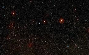 Картинка Stars, Constellation Vela, Digitized Sky Survey 2, Wide-field view, HD 85512b, K-type main-sequence star, HD …