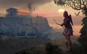 Картинка рисунок, арт, Assassins Creed, живопись, Ubisoft, 2018, Assassin's Creed Odyssey