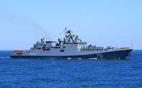 Картинка проект 11356, фрегат, черное море, адмирал эссен