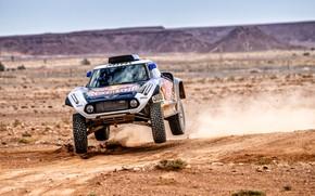 Картинка Mini, Пустыня, Машина, Автомобиль, 300, Rally, Dakar, Дакар, Ралли, Buggy, Багги, X-Raid Team, MINI Cooper, …