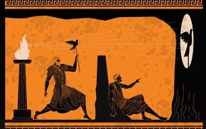 Картинка fun, shadows, greeks, human figures
