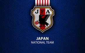 Картинка wallpaper, sport, Japan, logo, football, National team