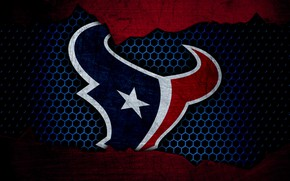 Картинка wallpaper, sport, logo, NFL, american football, Houston Texans