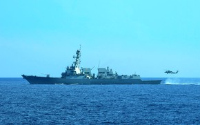 Картинка эскадренный, миноносец, USS Spruance