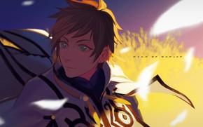 Картинка аниме, Взгляд, арт, парень, Tales Of Zestiria