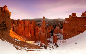 Картинка usa, utah, bryce canyon, navajo loop trail
