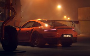 Картинка 911, Porsche, 2018, GT2 RS