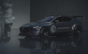 Картинка Mazda, Mazda 3, 2020, TCR