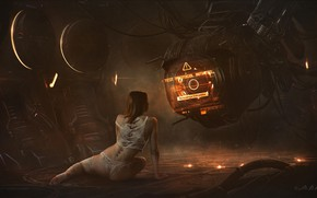 Картинка Vladimir Manyukhin, Dark metal II, Sciencefiction