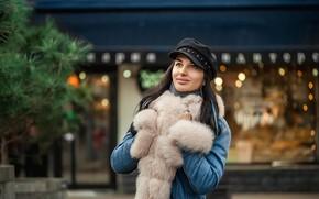 Картинка City, smile, winter, cold, Георгий Дьяков