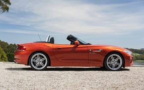 Картинка BMW, родстер, вид сбоку, 2013, E89, BMW Z4, Z4, sDrive35is