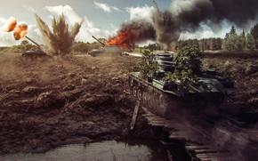 Картинка world of tanks, tank, засвет арты, Type 64
