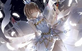 Картинка девочка, Card Captor Sakura, Сакура собирательница карт