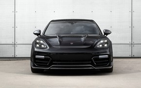 Картинка Porsche, Panamera, вид спереди, Turbo, 2018, TopCar, GT Edition