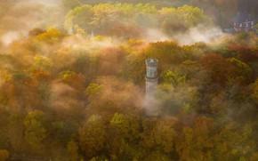 Картинка осень, Германия, Северный Рейн-Вестфалия, Башня Елены