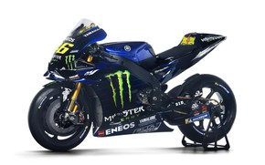 Картинка Monster Energy, Motorsport, Sportbike, Yamaha YZR-M1