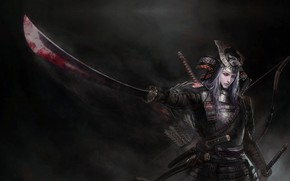 Картинка воин, фэнтези, арт, tian zi