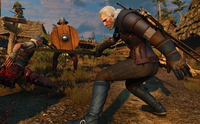 Картинка Ведьмак, The Witcher 3, Wild Hunt, Geralt From Rivia